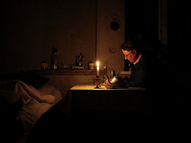 Gradić pod Staricom u mraku