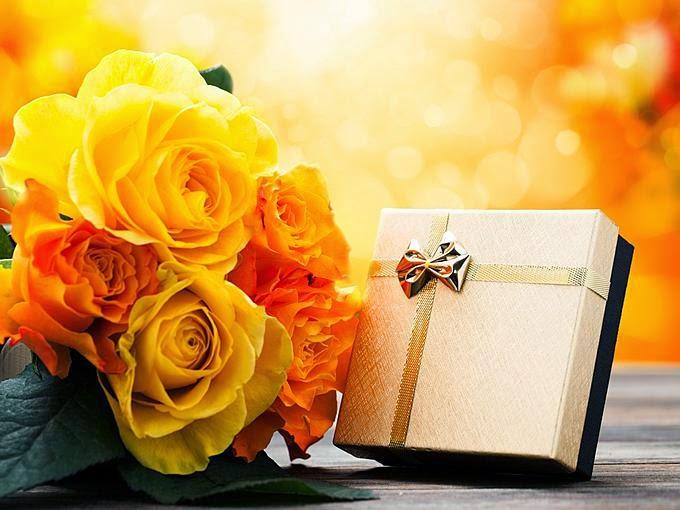 Žute ruže rođendanske